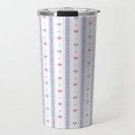 Soft Flowers Wallpaper Travel Mug