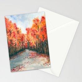 Autumn Journey Stationery Cards