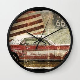Drive My Car Wall Clock