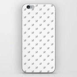 Paper crane pattern 2 iPhone Skin