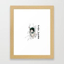 Go Beyond! Plus Ultra! Framed Art Print