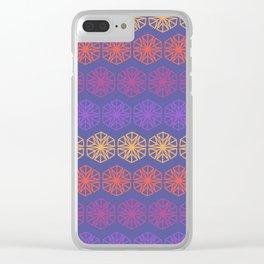 Vintage Kaleidoscope Clear iPhone Case