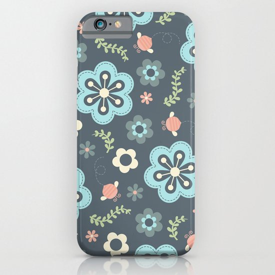 Whimsy Floral iPhone & iPod Case