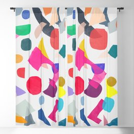 colored toys 2 v Blackout Curtain