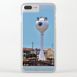 Wrightsville Beach View Clear iPhone Case