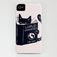World Domination For Cats Slim Case iPhone (4, 4s)