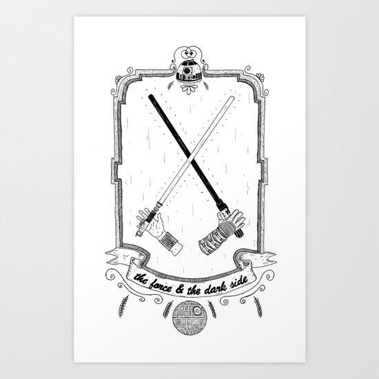 The Force! Art Print