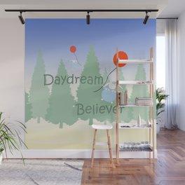 Daydream Believer Bunnies Wall Mural