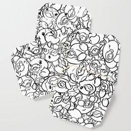 65 Cows Tiled Coaster