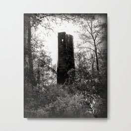 Forgotten Tower Metal Print