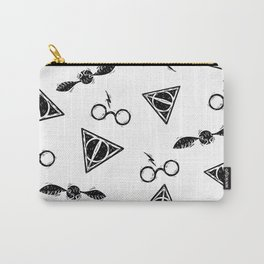 Glasses, Hallows, Seeker | HP Fan Art Collection Carry-All Pouch