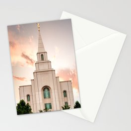 Kansas City LDS Temple 1 Stationery Cards
