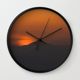 The Great Wall of China II Wall Clock