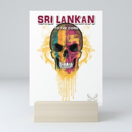 To The Core Collection: Sri Lanka Mini Art Print