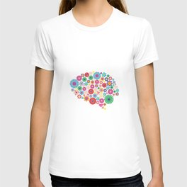 Flower brain T-shirt