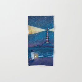 Lighthouse Hand & Bath Towel