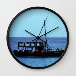 The Boat Off Cozumel Wall Clock