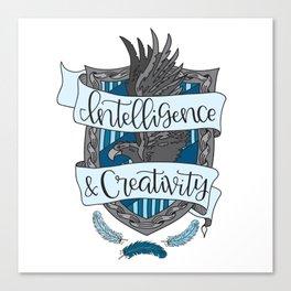 House Pride - Intelligence & Creativity Canvas Print