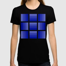 Four Shades of Blue T-shirt