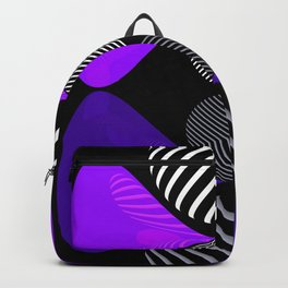 violet twin glob Backpack