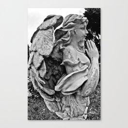 Angel profile Canvas Print