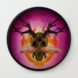 Skull.1 Wall Clock