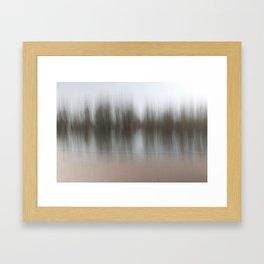 Movement in Nature V Framed Art Print