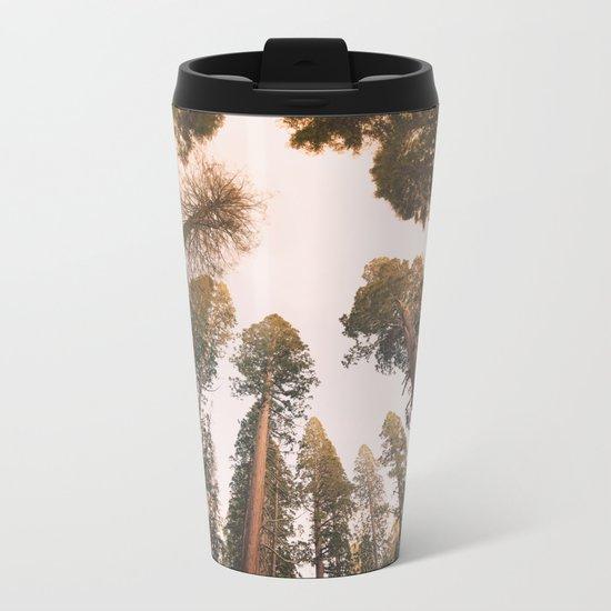 Sequoia Sunset Metal Travel Mug