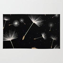 Celestial Dandelions Rug