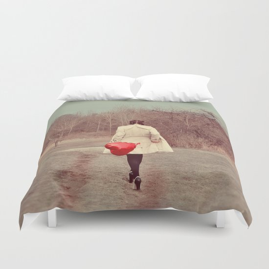 You've Gotta Have Heart Duvet Cover