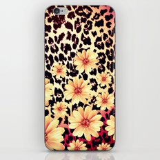 Wild Flowers - for Iphone iPhone & iPod Skin