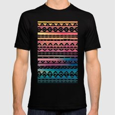 SURF TRIBAL II LARGE Mens Fitted Tee Black