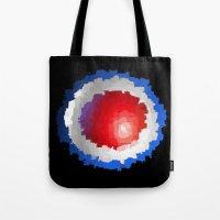 patriotic Tote Bags featuring Patriotic  by C R Clifton Art