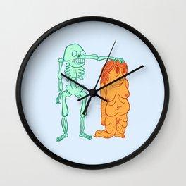 Skinned One Wall Clock