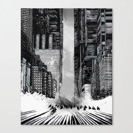 Homage to Akira Canvas Print