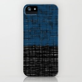 platno (blue) iPhone Case