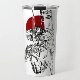 The Samurai's Charge Travel Mug