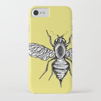 bee iPhone & iPod Cases featuring Bee by Aubree Eisenwinter