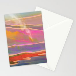 Adventure in the Volcanic Lands - Fumarole Stationery Cards