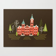 Samford Hall Canvas Print