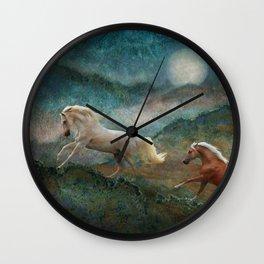Celestial Spirits Wall Clock