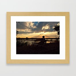 Patiently waiting for your love... Framed Art Print