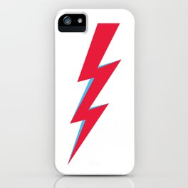 lightening Bolt iPhone Case