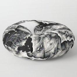 Veiled Shadow Floor Pillow