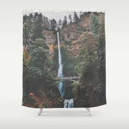 Majestic Multnomah Falls Shower Curtain