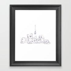 Cat's Framed Art Print