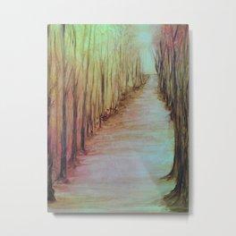BARE TREES Metal Print