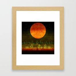 """""""Green Lemon & Golden Night Dream"""" Framed Art Print"""