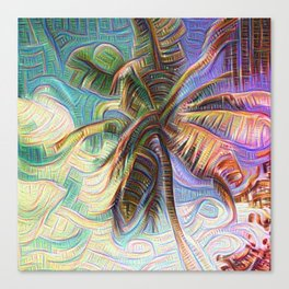 Inceptionist Palm Canvas Print