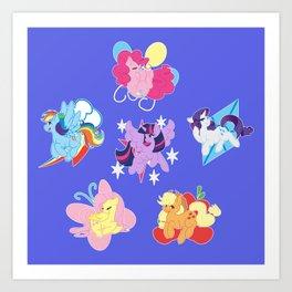 Elements of Harmony Art Print